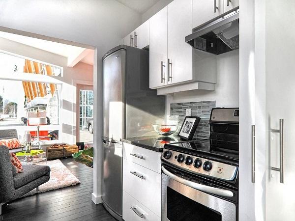 küçük mutfak dekorasyonu