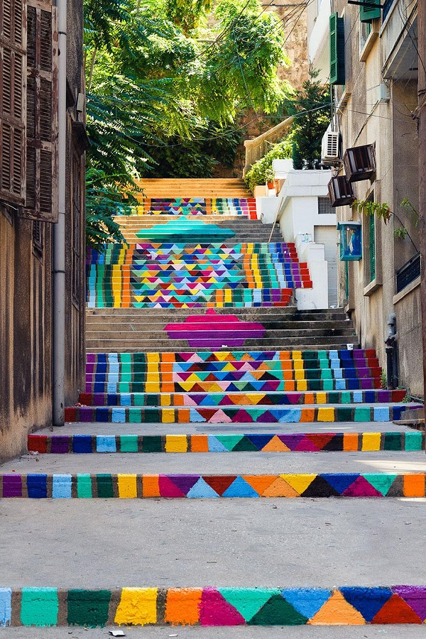 renkli sokaklar